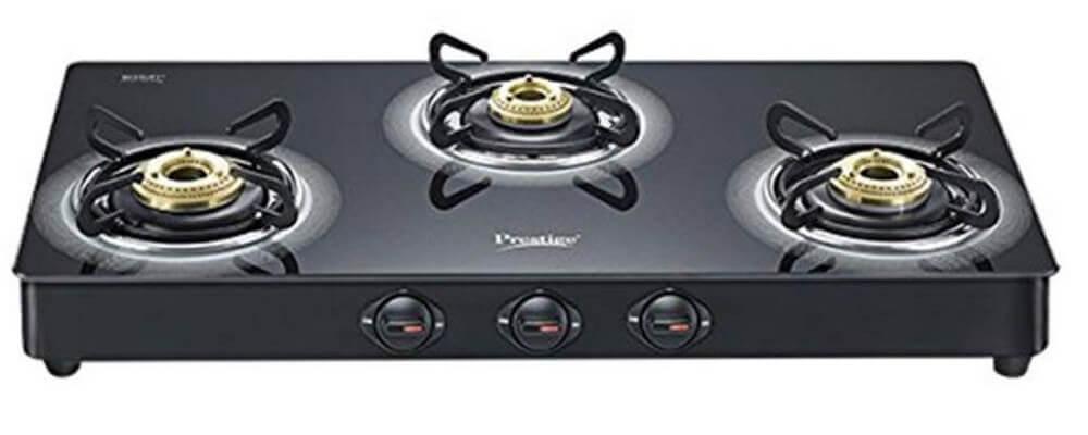 Prestige 3 Burner Gas Stove
