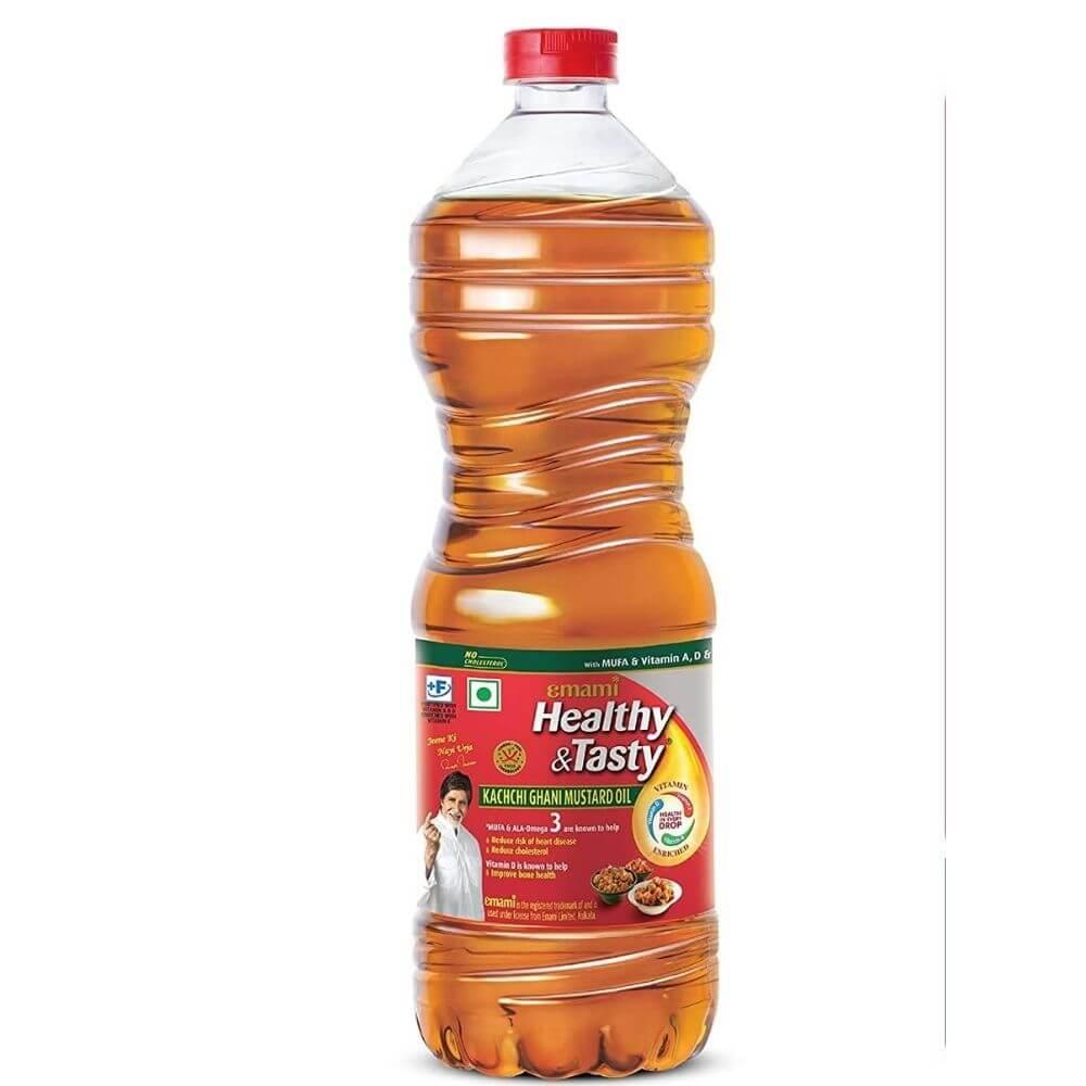 Emami Healthy & Tasty Mustard Oil