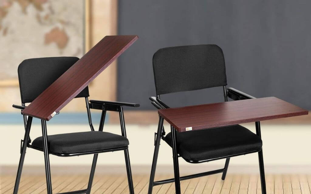 Best Study Chair for Students with Writing Pad